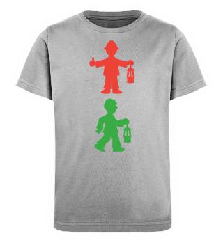 Kinder Bio-Shirt – Bergmannsampel