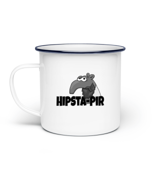 Hipsta-Pir Bärtiger Hipster Tapir Tasse