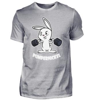 Pumpernickel Kaninchen Kniebeugen