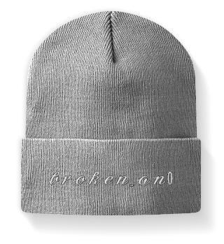 Mütze mit Schriftzug