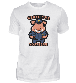 Pig police security Gift