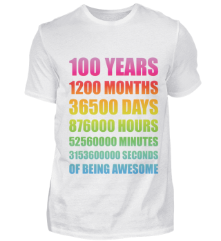 100 Jahre Geburtstag Jubiläum Geschenk