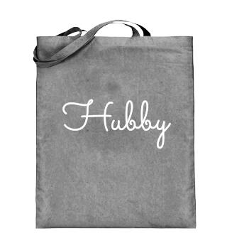 Hubby Shirt for husband white- gift