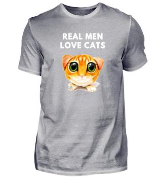 Real Men love cute Cats