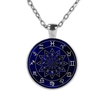 Sternzeichen Halskette