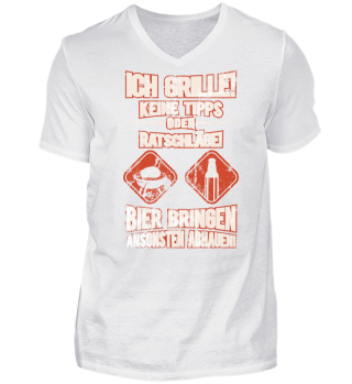 Lustiges Grill Shirt Geschenk