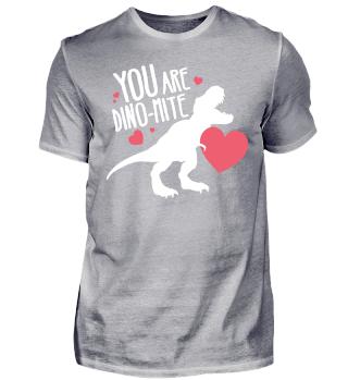 T-Rex Valentines Day Dino Dynamite Gift