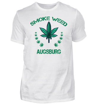 Kiffer Shirt Augsburg Cannabis Shirt