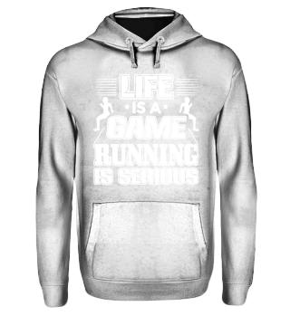 Running Runner Shirt Life Is A Game