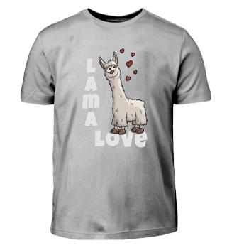 Lama Love Liebe Lamas Alpaka Geschenk