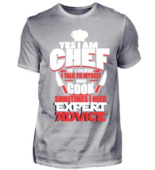 Chefkoch Koch YES IAM CHEF