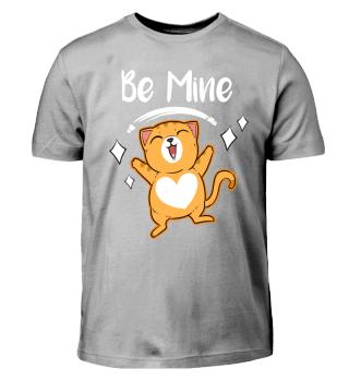Valentinstag Katze T Shirt