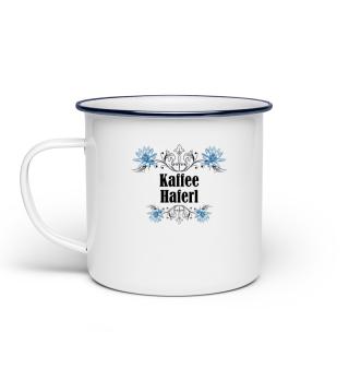 Emaille Tasse Kaffee Haferl
