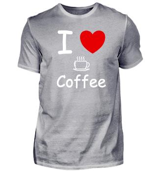 I Love coffee drink morning awake tea