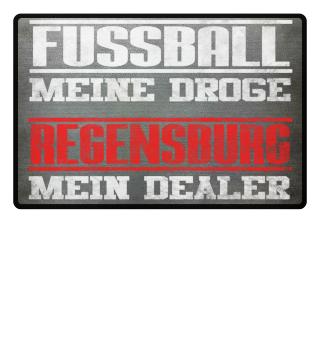 Regensburg Fußmatte Fußball Fan Geschenk