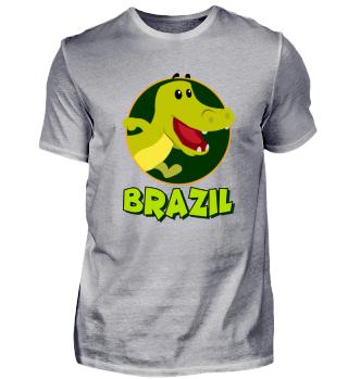 Brasilien - Brazil - Krokodil Wildtier
