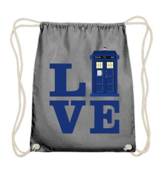 ★ Love Blue Travel Police Box I