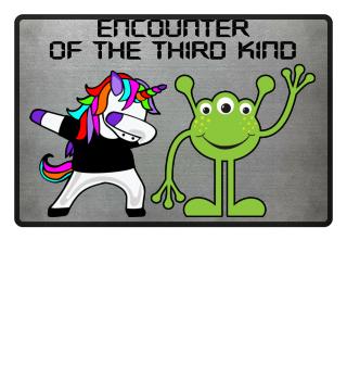 Dabbing Unicorn - Alien Encounter Dab