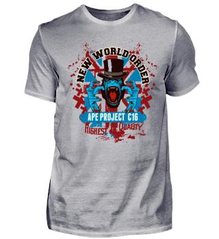 WELTORDNUNG - Britischer Punk Gorilla