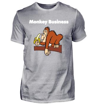 Monkey Business Affe Geschenk Lustig