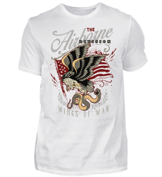 Herren Kurzarm T-Shirt Wings Of War Ramirez
