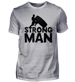 ★ Strong Man - Exercising Wheel Flip 1