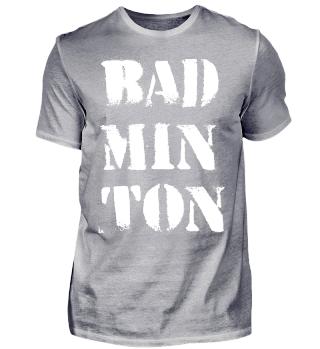 Badminton BAD-MIN-TON