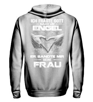 MEINE FRAU - ENGEL - PAAR T-SHIRT