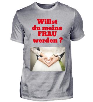 Heiratsantrags T-Shirt