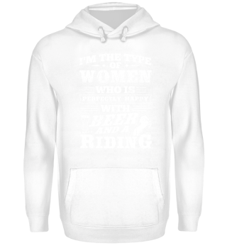 Funny Horse Riding Shirt I'm The Type