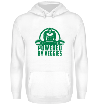 Powered By Veggies Vegan Gorilla