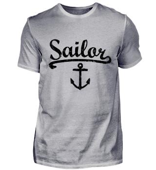 Sailor Anker Vintage (Schwarz)