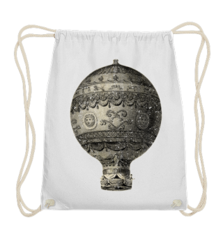 Steampunk Aeronautics Balloon grunge 1