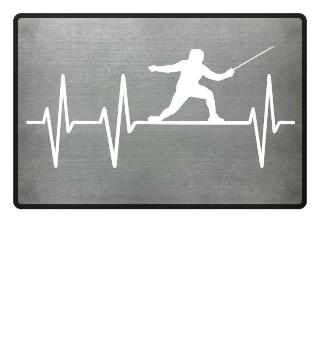 Fencing Heartbeat Fechten Herzschlag