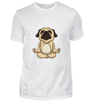Namaste Sweet dogs Yoga Mandala