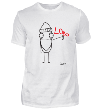 LOVE GRAFFITI T-SHIRT