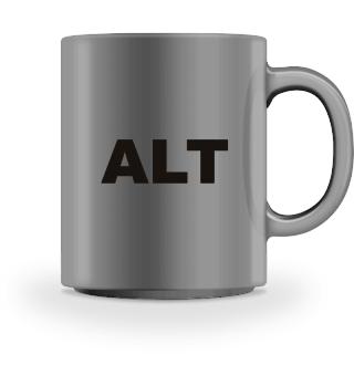 PC Tastenbezeichnung ALT - black