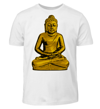Buddha Meditation Gold Zen