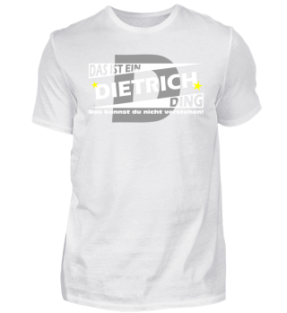 DIETRICH DING | Namenshirts