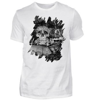 Steampunk Alchemist Magier Skull II