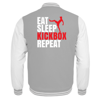 Eat Sleep Kickbox Repeat