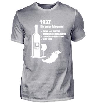 Jahrgang 1937 Geburtstag Geschenk 50/60
