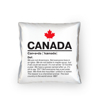 Definition Canada - Kissen