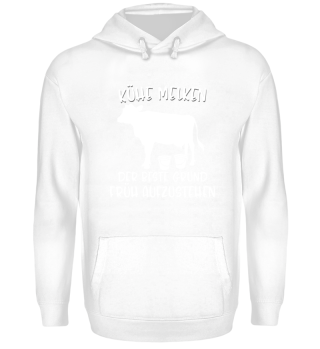 Landwirtschaft - Kühe melken