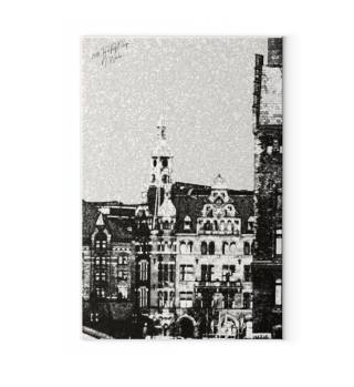 Canva: Hamburg Speicherstadt / Michel