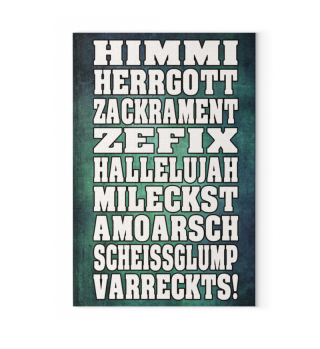 LEINWAND - HIMMI HERRGOTT