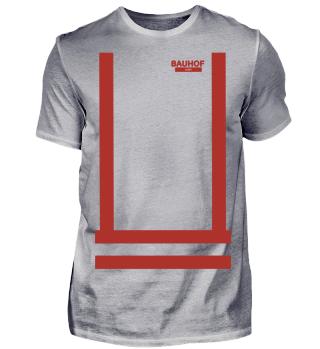 Bauhof Weber Shirt (Rote Streifen)