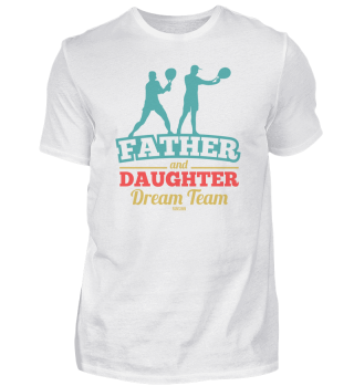 Tennis father and daughter dream team