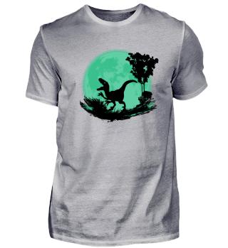 Blutmond - Dinosaurier Raptor Halloween