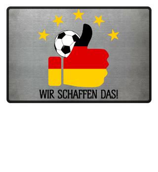 ★ Fussball 5 Sterne - Wir Schaffen Das 1